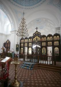 Внутреннее убранство храма в честь Рождества Пресвятой Богородицы г.Рославля