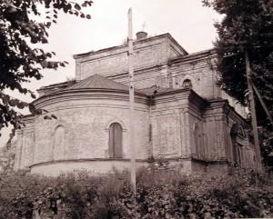 Храм в честь Рождества Пресвятой Богородицы г.Рославля. Конец 80-х годов XX века