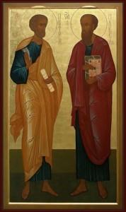 Апостолы Петр и Павел 2
