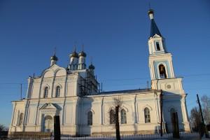 Храм в честь Рождества Пресвятой Богородицы г.Рославля. 2013 год